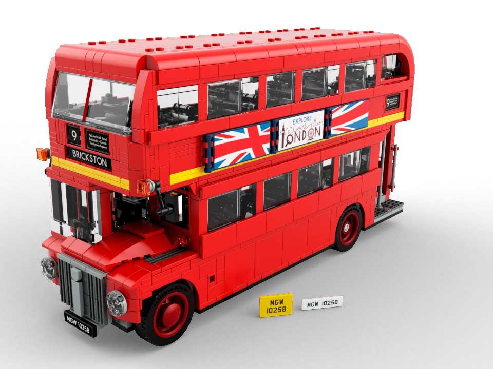 Купить лего автобус