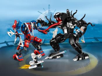 Конструктор lego super heroes человек-паук против венома