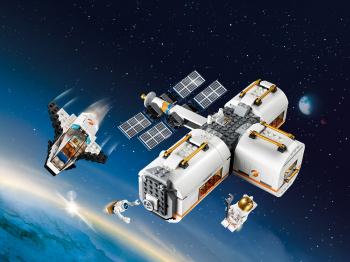 Конструктор lego city лунная космическая станция