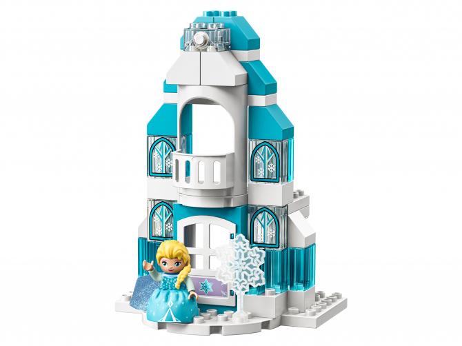 Конструктор lego duplo princess ледяной замок 10899